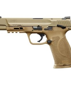 """Smith & Wesson M&P M2.0 9mm 5"""" FDE, Manual Thumb Safety, 17+1"""