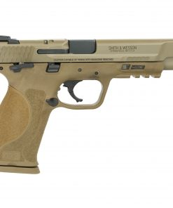 """buy Smith & Wesson M&P M2.0 9mm 5"""" FDE, Manual Thumb Safety, 17+1"""