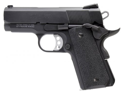 Smith & Wesson 178053 1911 Performance Center Pro Single 9mm 3 8+1 Black