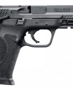 Smith & Wesson 11524 M&P M2.0 Double Action 9mm 4.25 17+1 Thumb Safety 3Dot Black Interchangeab
