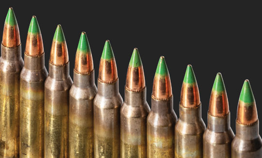 What is Green Tip Ammo?